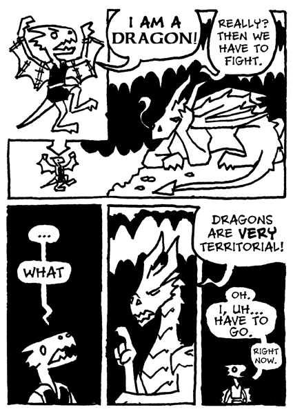The Kobold And The Dragon Dark Places